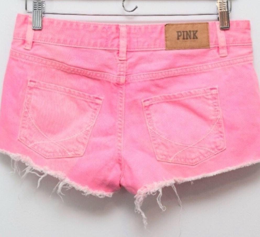 e61cf55c07bd3 Victoria's Secret PINK Pink Denim Shorts