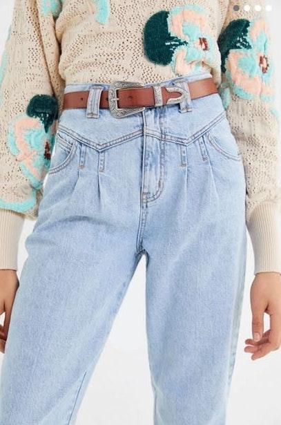 Urban Outfitters Western Brown Belt