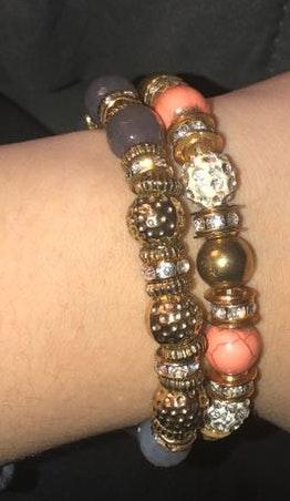 Francesca's Beaded Bracelet