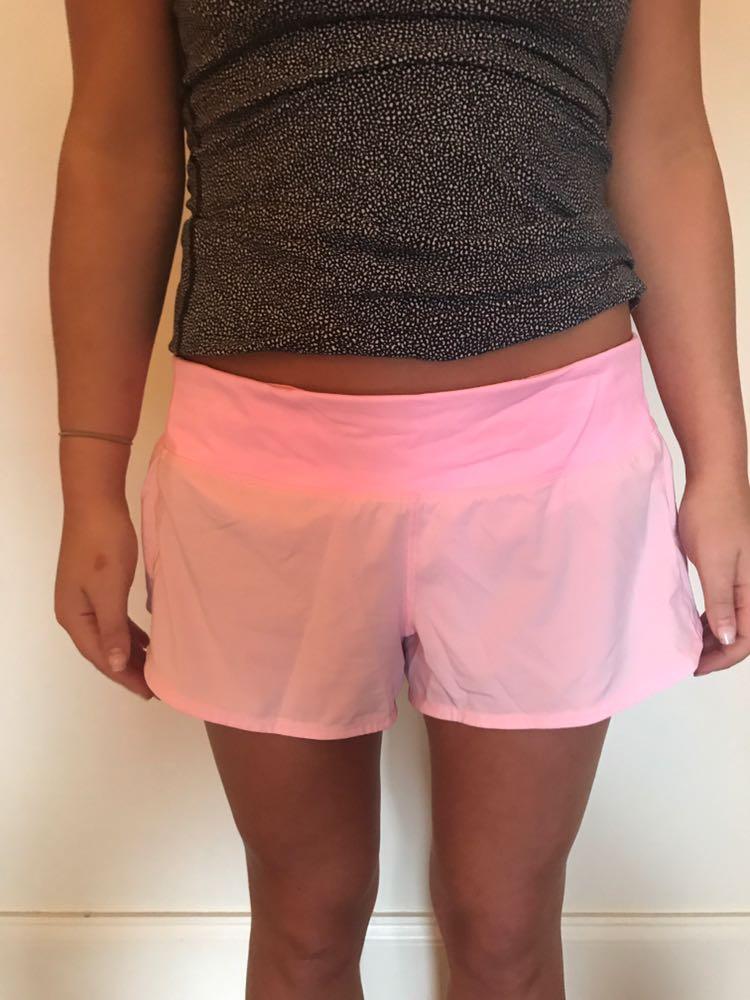 Lululemon Pink  Short