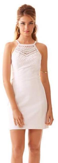 0b66d1389a8 Lilly Pulitzer White Eyelet Dress