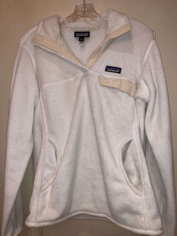 Patagonia Womens White Pullover