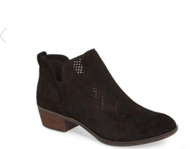 e1161fbffcce We re the buy sell app for cute clothes. Say to being bored of your  clothes. Home Bp Faren Perforated Leather Bootie