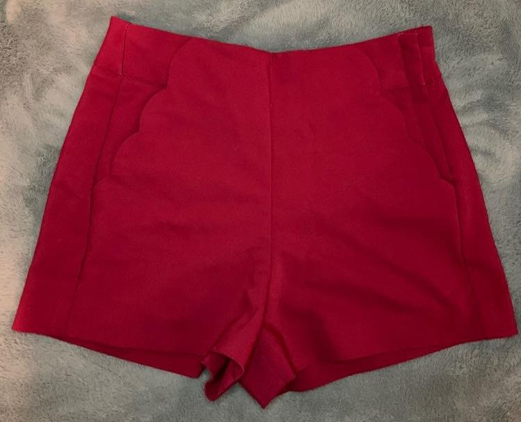 Candie's Burgundy Shorts