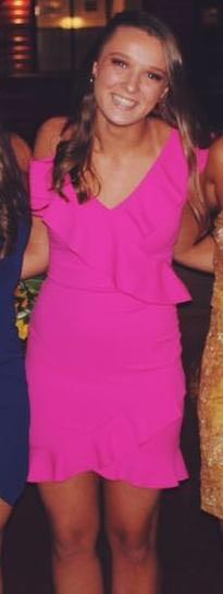 L Space Pink Semi Formal Dress