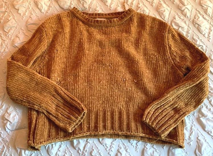Altar'd State Mustard Yellow Sweater
