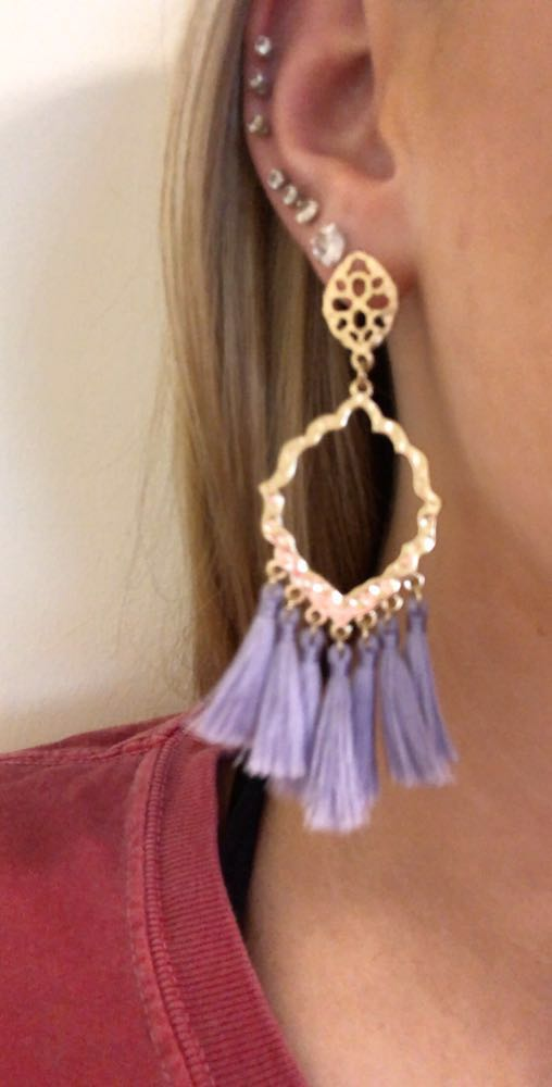 Pastel Dangle Earrings