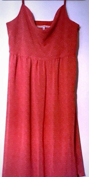 Rachel Roy RACHEL  Coral Chiffon Dress