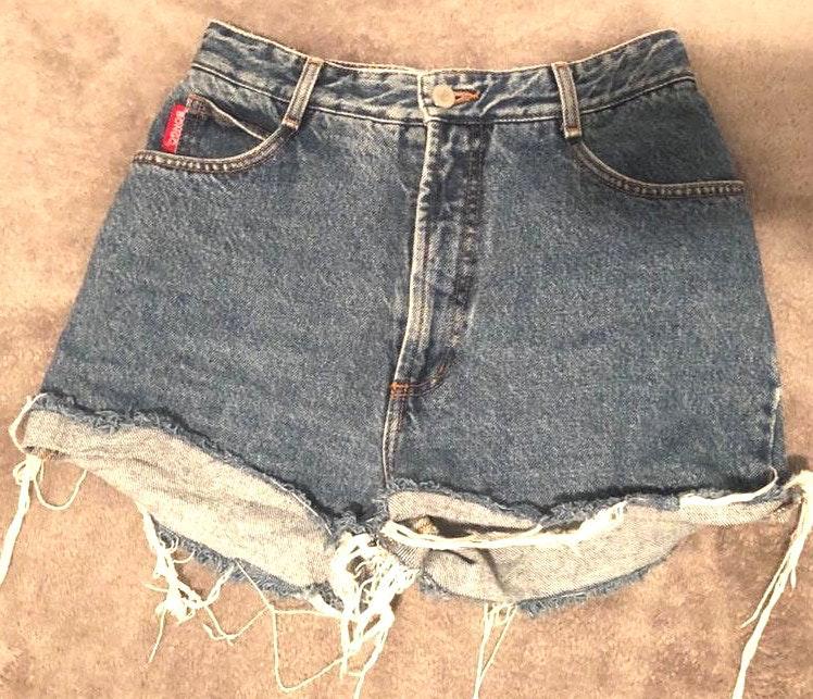 Bongo Vintage Denim High-Waisted Shorts