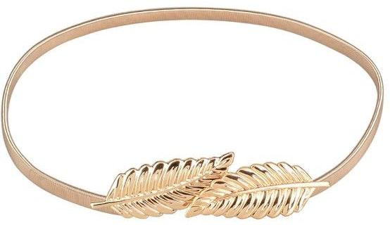 Urban Outfitters Gold Leaf Dress Belt
