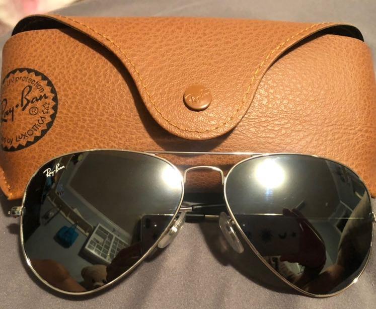 Ray-Ban Black/Silver Sunglasses