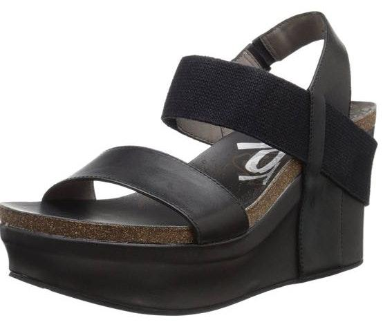 OTBT Black Wedges