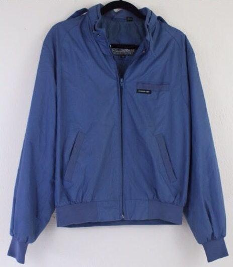 Vintage 80s Members Only Medium Blue Jacket 40 Men's