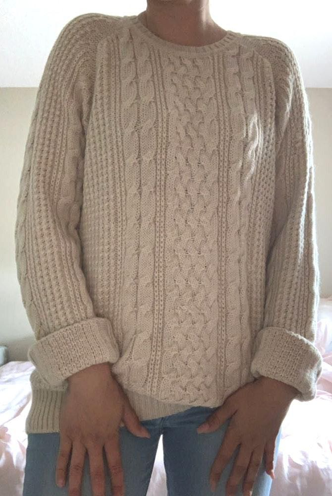 Brooks Brothers Cable Knit Sweater