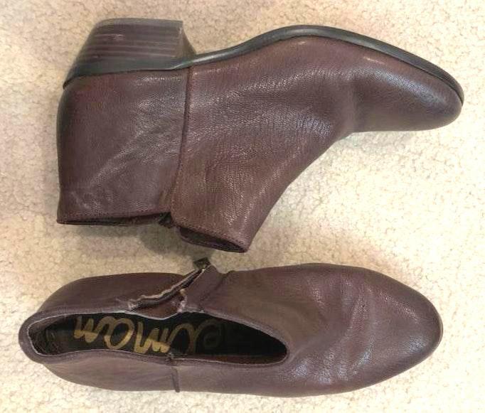 Sam Edelman Short Packer leather booties
