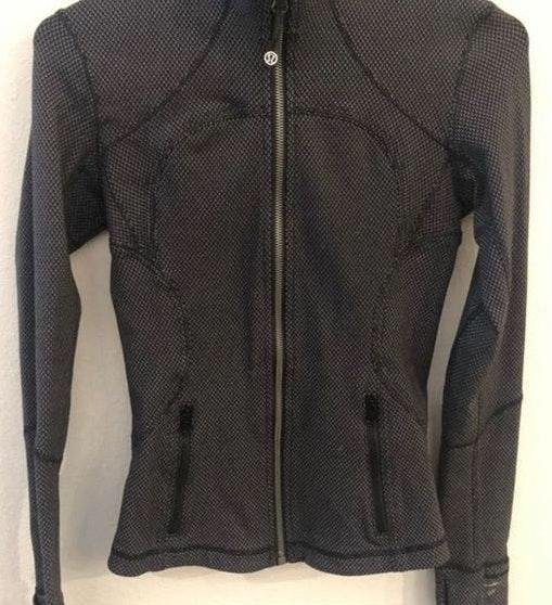 Lululemon Define Jacket Black And Grey