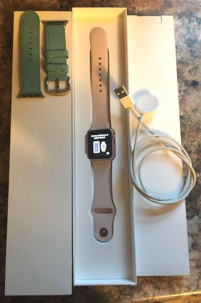 Apple Series 1 Rose Gold  Watch