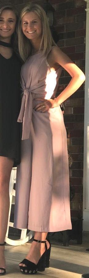 Lulus Light Pink Jumpsuit