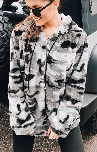 Hazel Boutique Camo Jacket