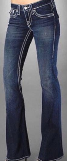 True Religion Vintage  Flare Jeans