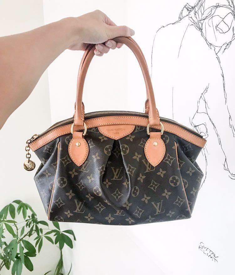 Louis Vuitton Tivoli PM Tote Mini Duffle Bag