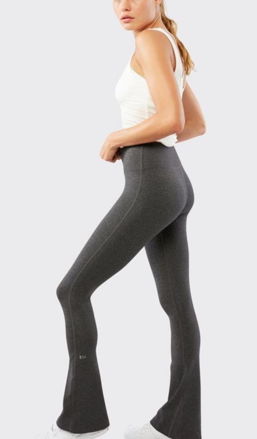 Splits59 Raquel Grey Flare Leggings