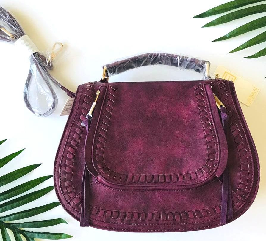 Urban Expressions Vegan Faux Leather Crossbody Bag