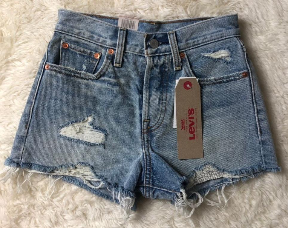 Levi's NWT Blue  Denim Jean Shorts