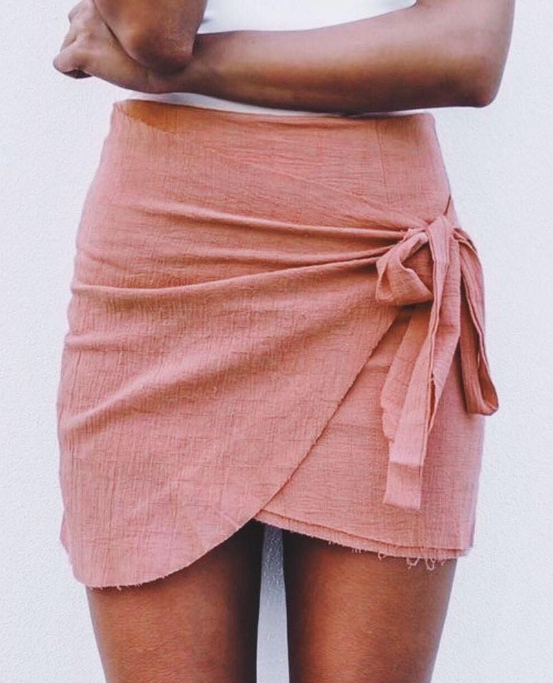 LF Mint Vanilla Wrap Skirt