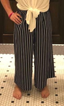 Dry Goods Flowy Striped Panta