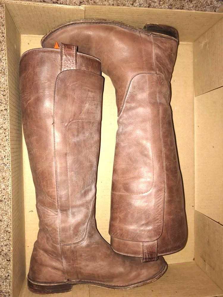 0cf183a2fa2a We re the buy sell app for cute clothes. Say to being bored of your  clothes. Home Frye Paige Tall Riding Boots ...