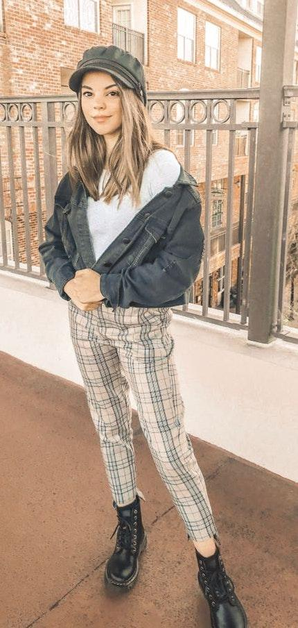 Grey Bandit Plaid pants