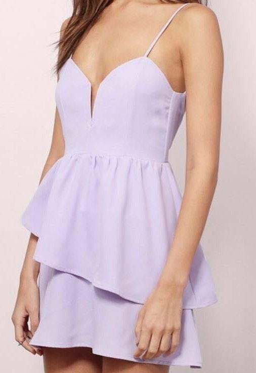 Tobi Pastel Lavender Dress