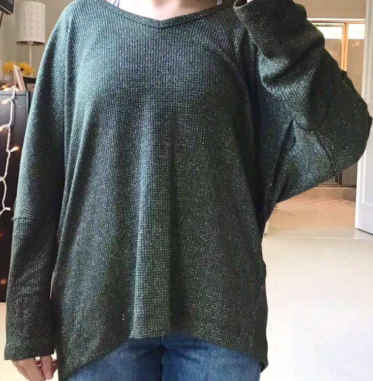 Umgee Long Sleeve Thin Sweater