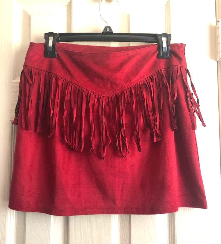 TCEC Suede Skirt