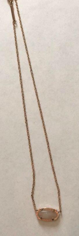 Kendra Scott Rose Gold  Elisa Necklace