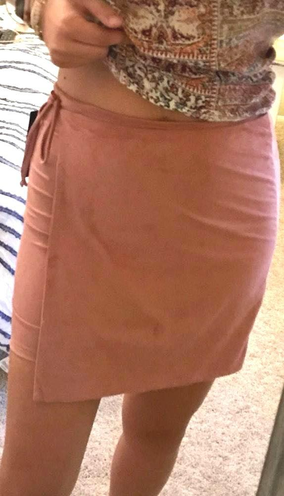 Lulus Pink Skirt.