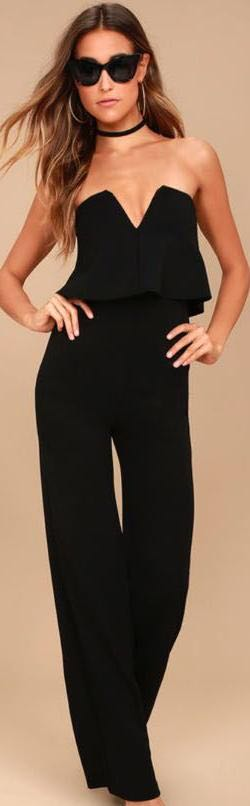 Lulus Black Jumpsuit