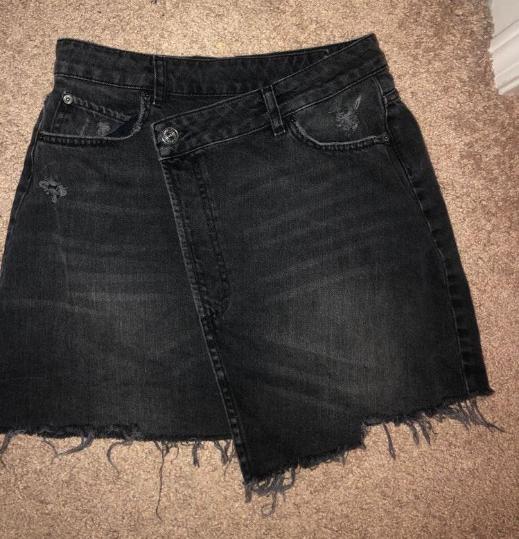 BDG Urban Outfitters Black Jean Skirt