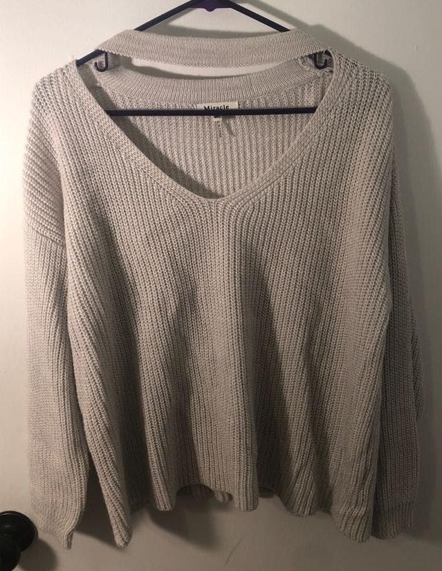 Miracle USA Grey Sweater