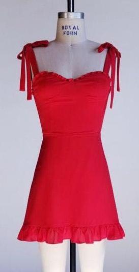 Boutique John And Suki Red Dress