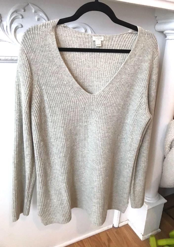J.Crew Grey Comfy Sweater