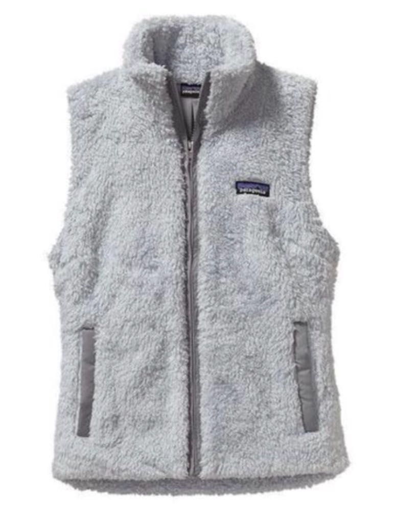 Gray Patagonia Fuzzy Vest