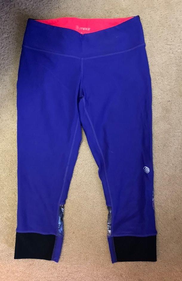 TJ Maxx Royal Blue Crop Leggings