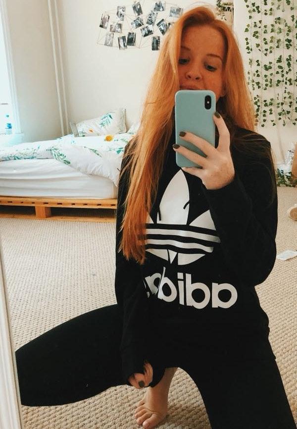 Adidas New Black Hoodie!