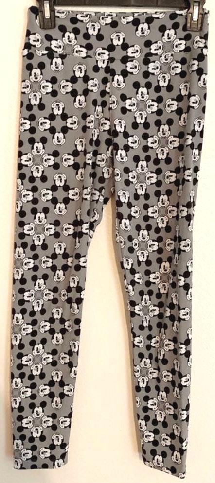 LuLaRoe Mickey Mouse Leggings