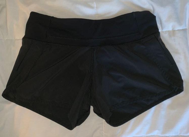 Lululemon Lulu Lemon Black Tall Size 4 Shorts