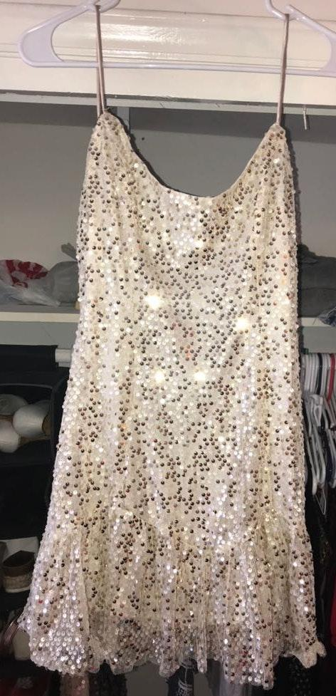 Hello Molly Champagne Dress