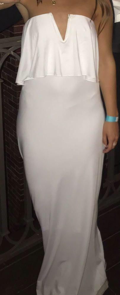 Amazon White Formal Dress