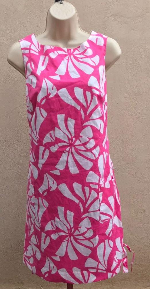 836e221c00c Lilly Pulitzer Lily Pulitzer Shift Pink White Dress